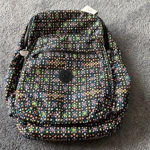 Kipling Seoul Floral Mozzaik Backpack
